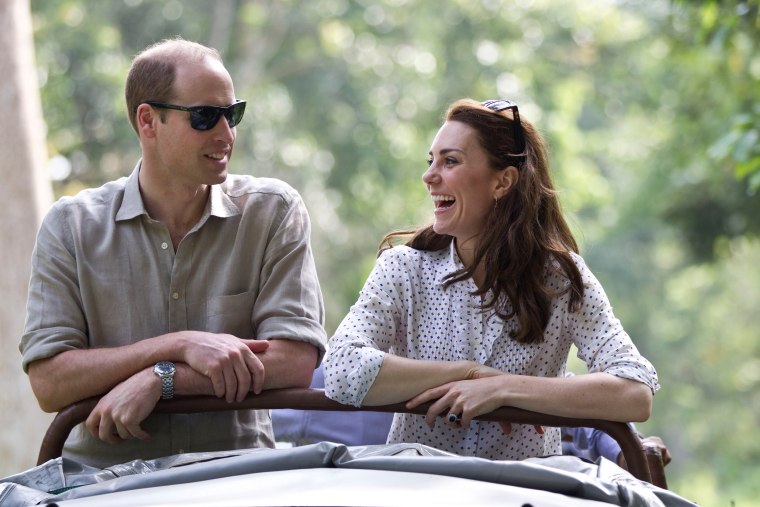 Image: The Duke & Duchess Of Cambridge Visit India & Bhutan - Day 4