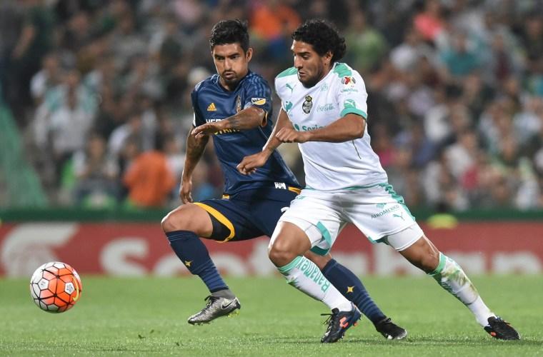 Santos Laguna of Mexico vs Los Angeles Galaxy of the USA