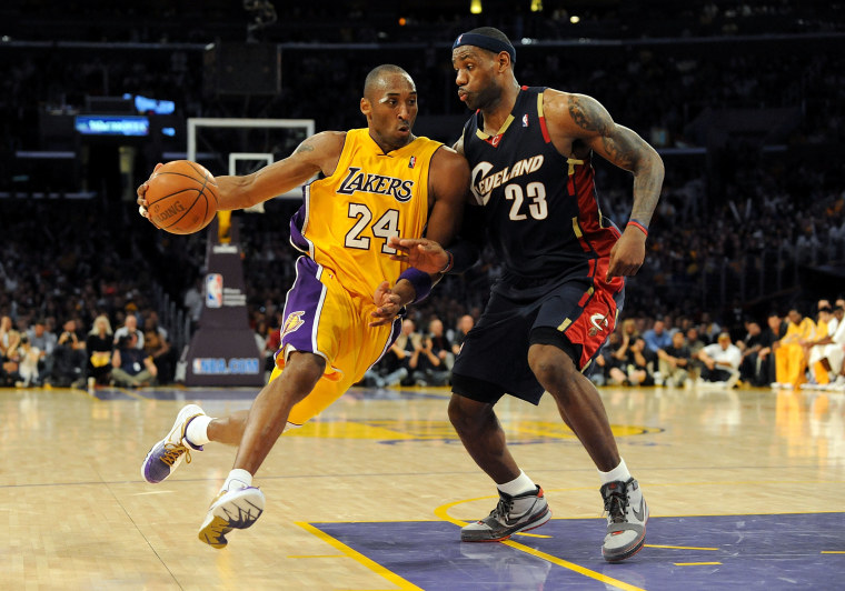 Image: Cleveland Cavaliers v Los Angeles Lakers