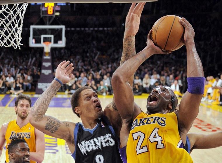 Image: Kobe Bryant, Michael Beasley