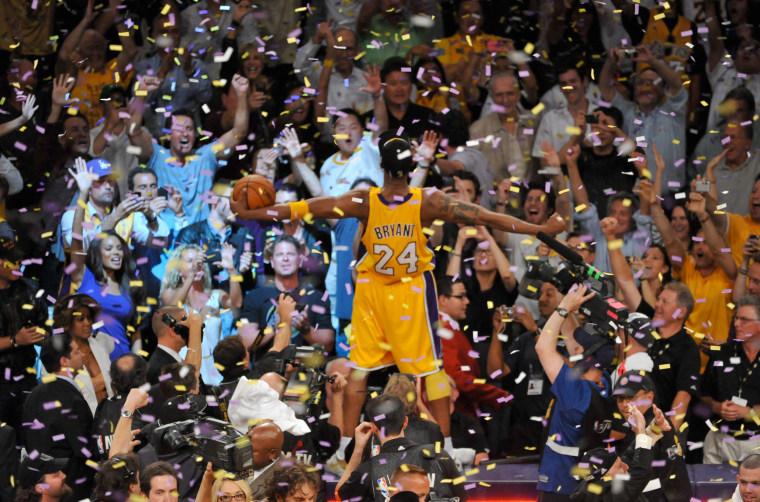 Image: NBA Finals Game 7:  Boston Celtics v Los Angeles Lakers