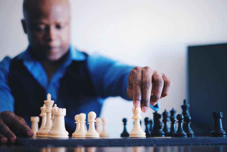 International Chess Grandmaster Maurice Ashley