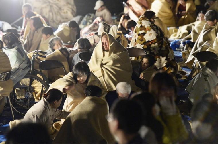 Image: Japanese earthquake damage