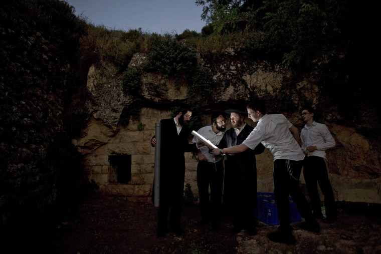 Image: Ultra-Orthodox Jews ahead of Jewish holiday of Passover in Jerusalem