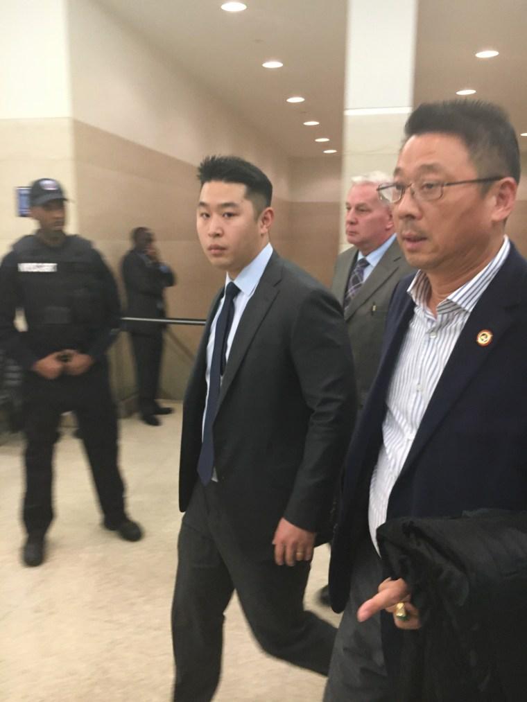 Peter Liang, April 14, 2016