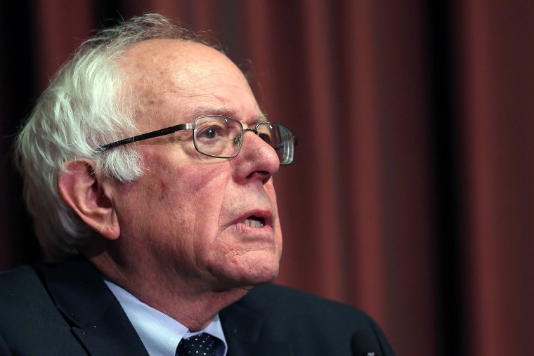Image: Bernie Sanders Speaks At The National Action Network Convention