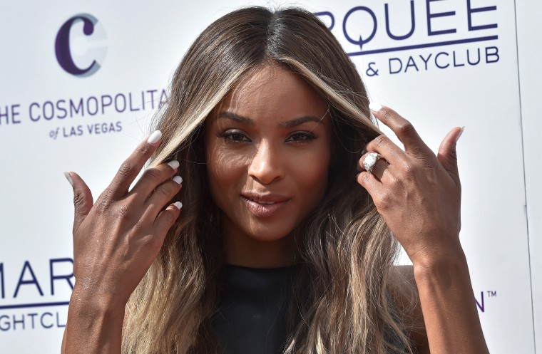 Ciara At Marquee Dayclub Season Grand Opening