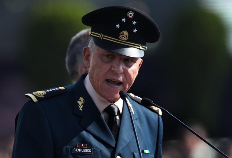 Image: Gen. Salvador Cienfuegos Zepeda