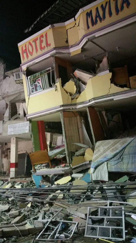 Image: Ecuador Earthquake