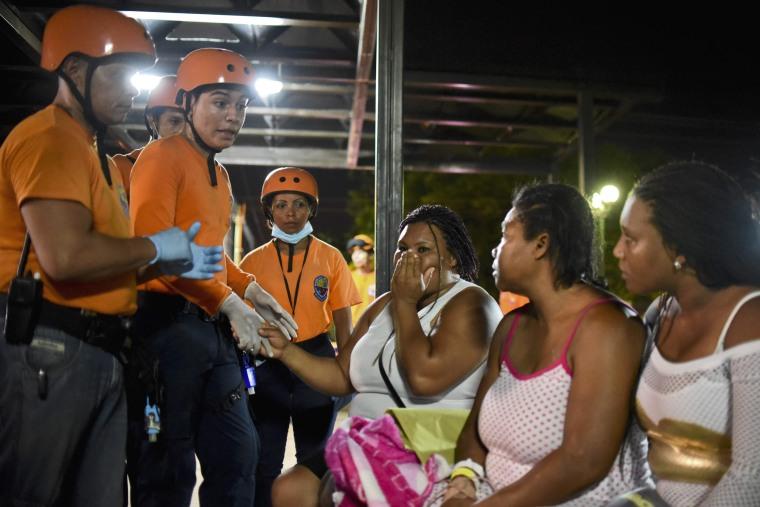 Image: COLOMBIA-ECUADOR-QUAKE