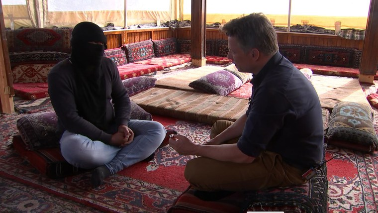 NBC News' Richard Engel interviews Abu Mohammed, who says he stole the ISIS files from a senior commander.