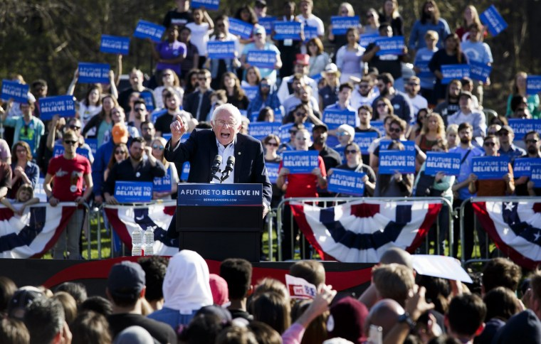Image: Bernie Sanders rally in New York