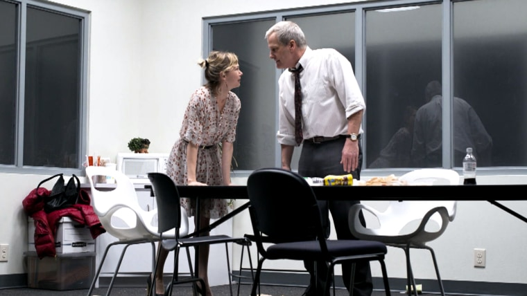 """""""Blackbird,"""" with Michelle Williams and Jeff Daniels."""