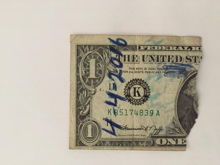 dollar bill reunion