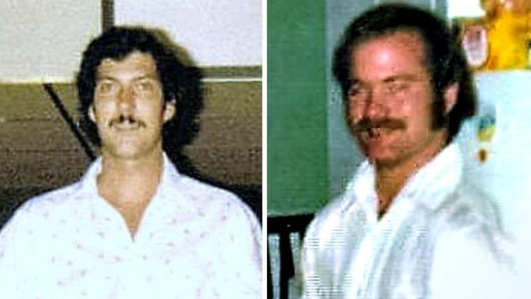 Steve Morris and Joe Whitehead 40 years ago
