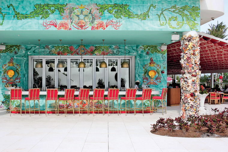 Faena Hotel in Miami Beach, Florida