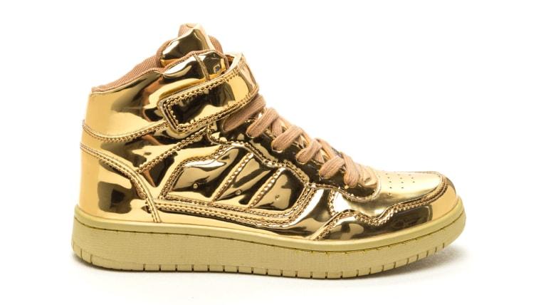 GoJane Let's Kick It Metallic Sneakers
