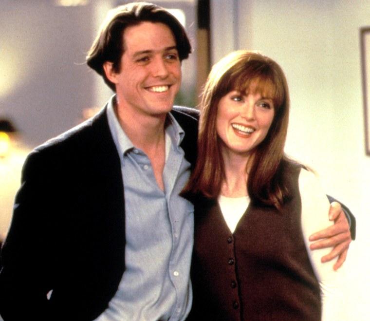 Image of Hugh Grant and  Julianne Moore