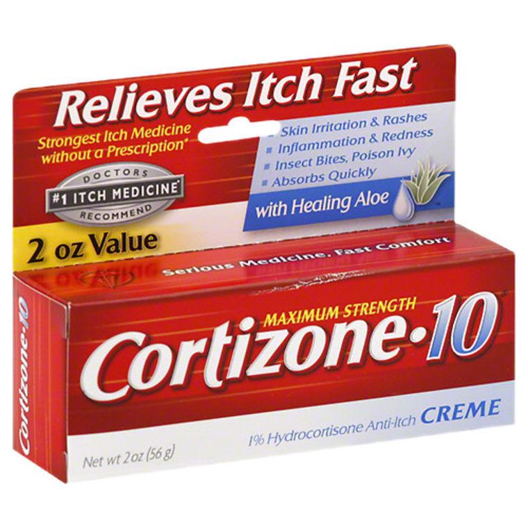 Cortisone anti-itch cream