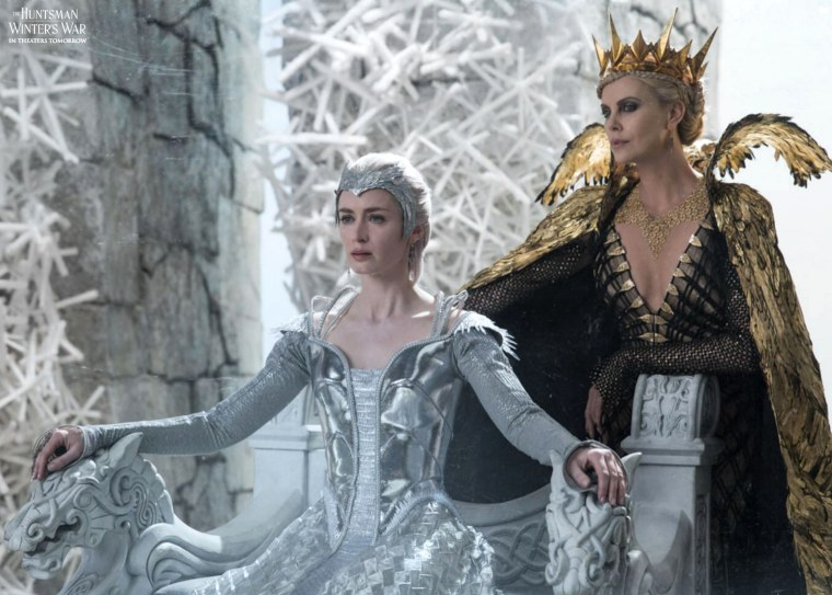 The Huntsman Winter's War: Emily Blunt and Charlize Theron