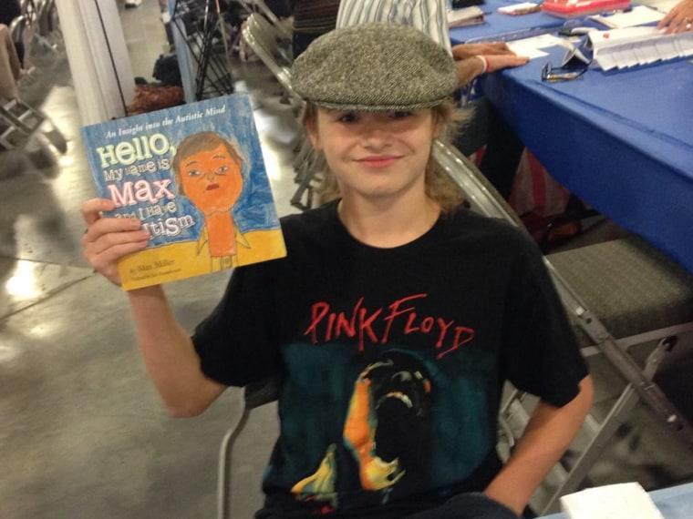 Max Miller's autism book