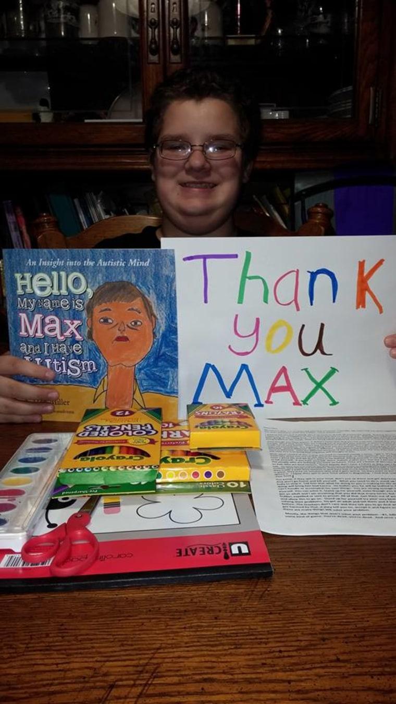 max autism book