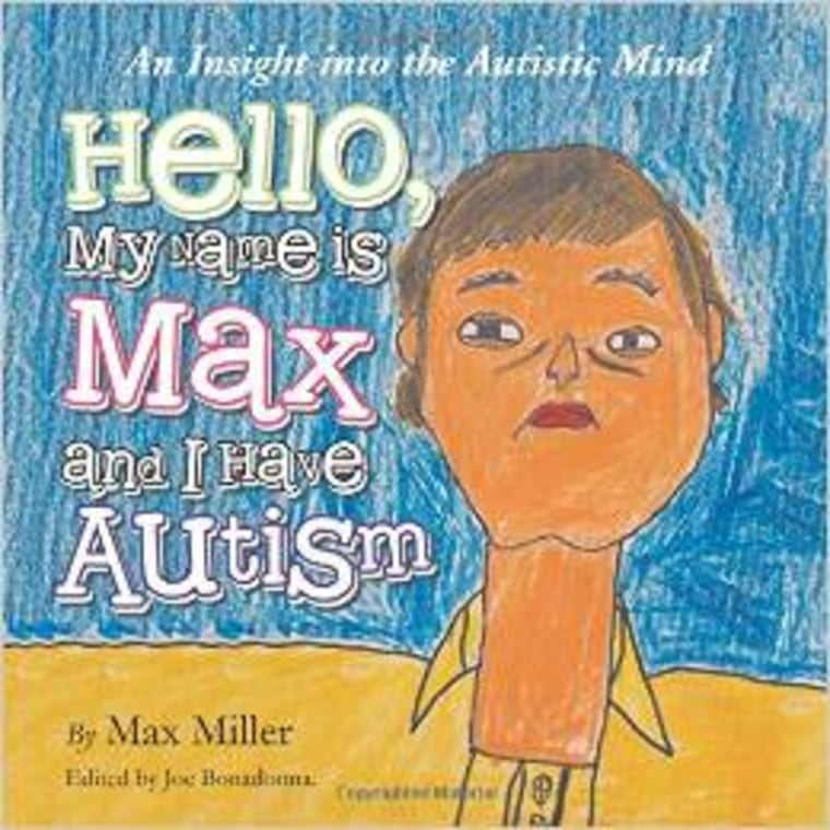 """Max Miller's autism book, """"Hello, My Name Is Max and I Have Autism"""""""