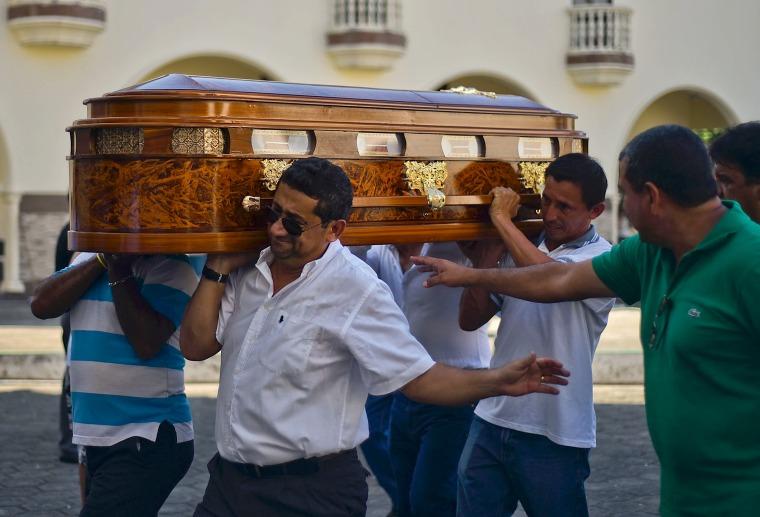Image: ECUADOR-QUAKE