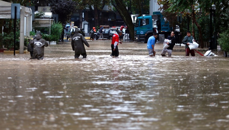 Image: CHILE-FLOOD-RAIN
