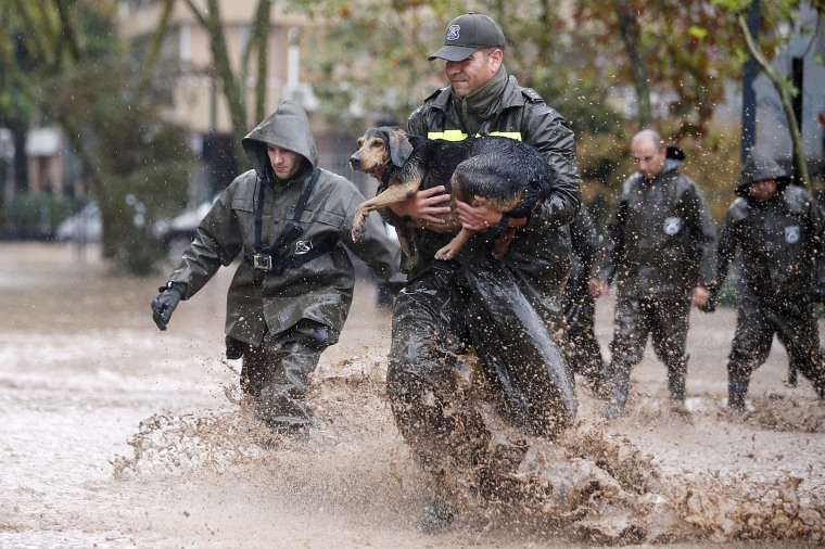 Image: Floods in central Chile