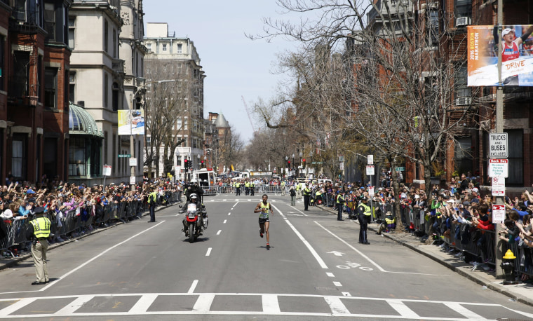 Image: Running: Boston Marathon
