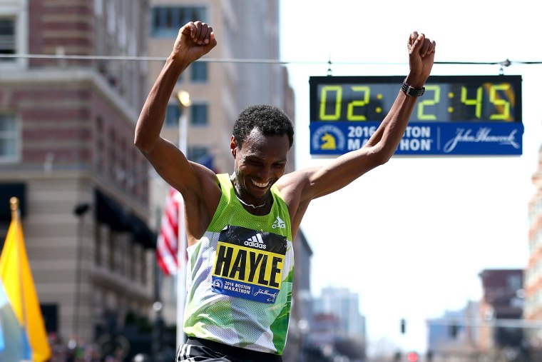 Image: 120th Boston Marathon