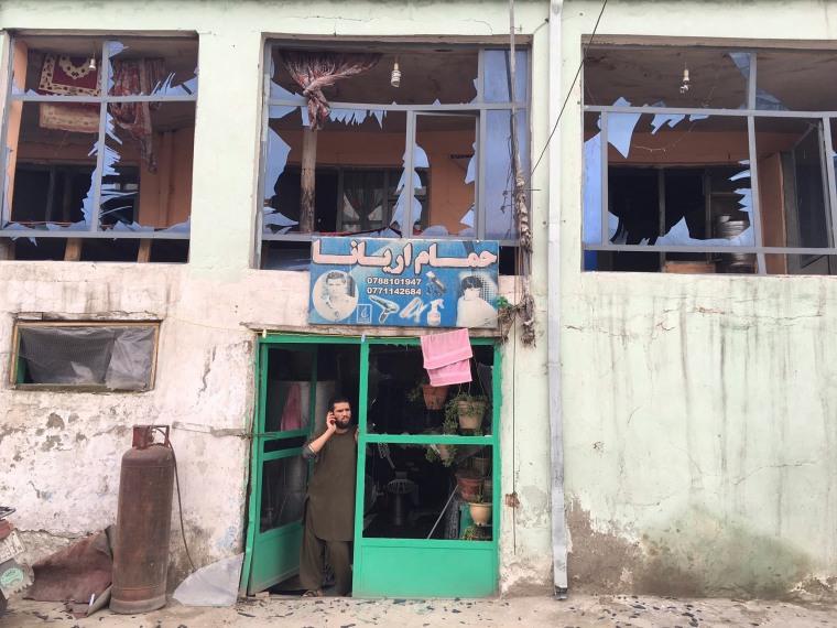Image: Bomb blast rocks Kabul