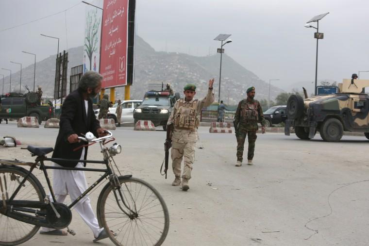 Image: Kabul bombing attack