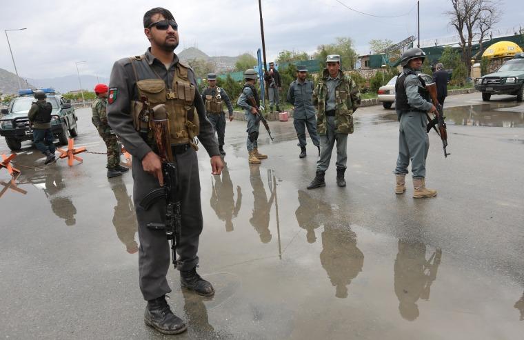 Image: Kabul car bombing
