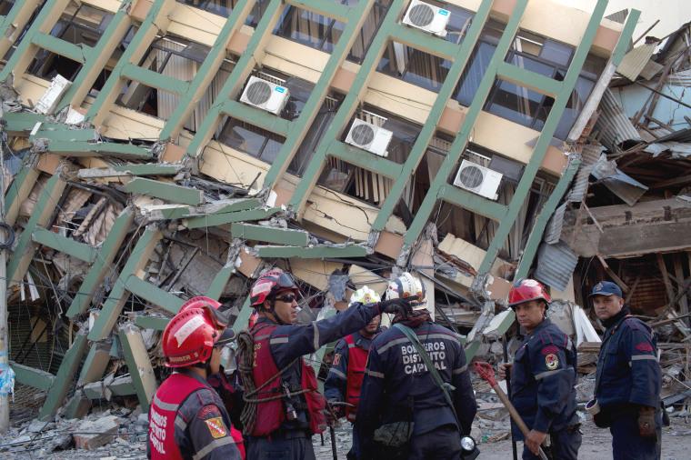 Image: Rescue in Portoviejo
