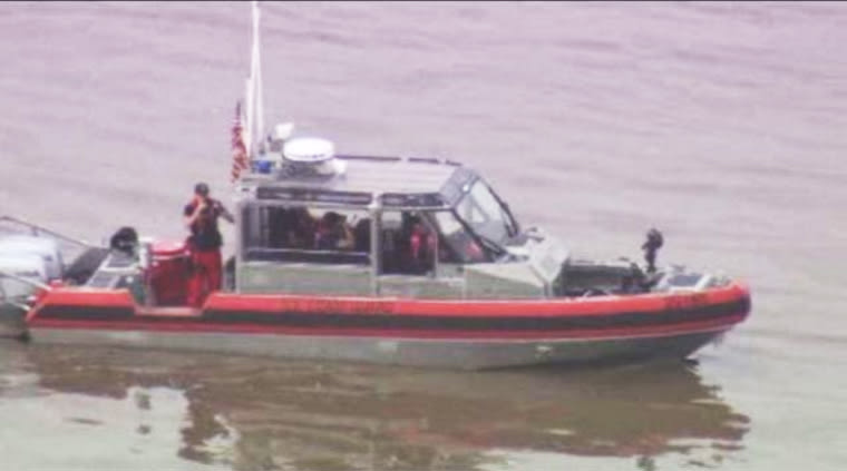 A Coast Guard rescue team says a body has been recovered after a tugboat capsized on the San Jacinto River on April 19, 2016.