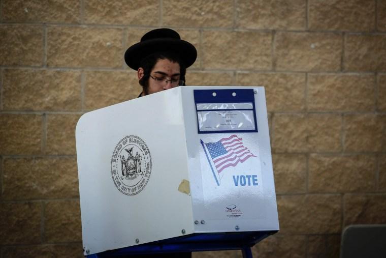 Image: US-VOTE-NEW YORK
