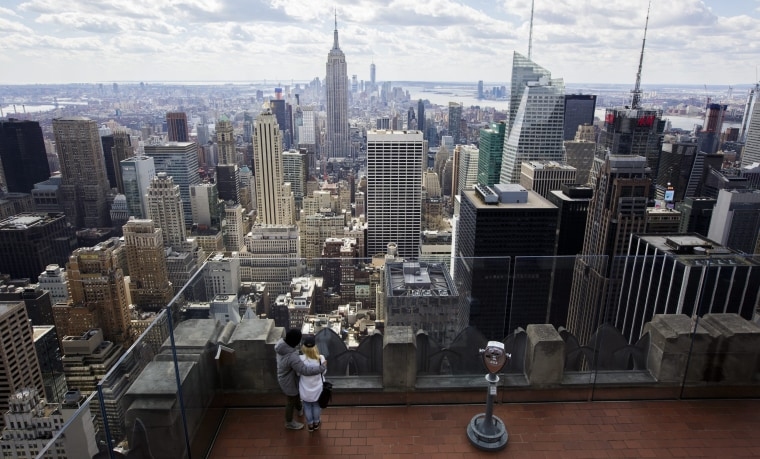 Image: New York City from the Top of the Rock at Rockefeller Center