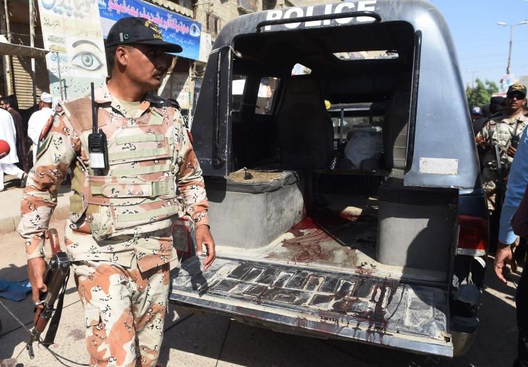 Image: Karachi attack