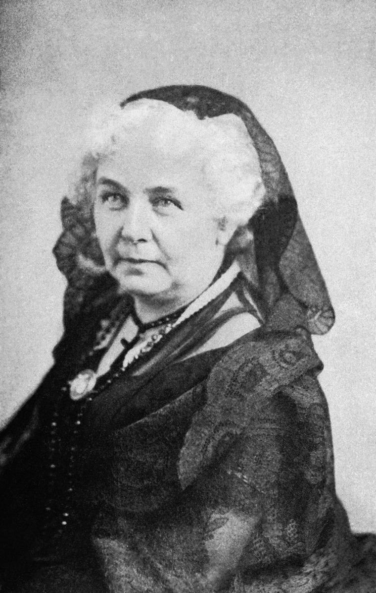 Image: Elizabeth Cady Stanton