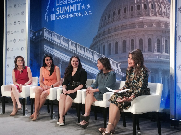 Image: Latinas who work or worked at the White House discuss their careers