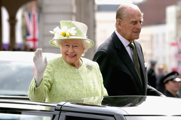 Image: The Queen & Duke Of Edinburgh Carry Out Engagements In Windsor