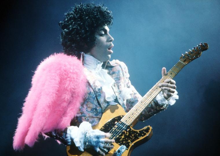 Image: Prince Live In LA