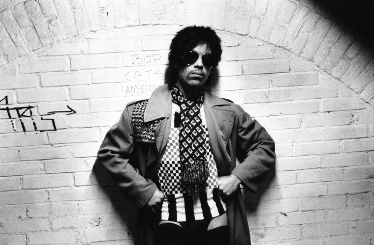 Photo of PRINCE; Posed portrat of Prince, sunglasses (Photo by Virginia Turbett/Redferns)