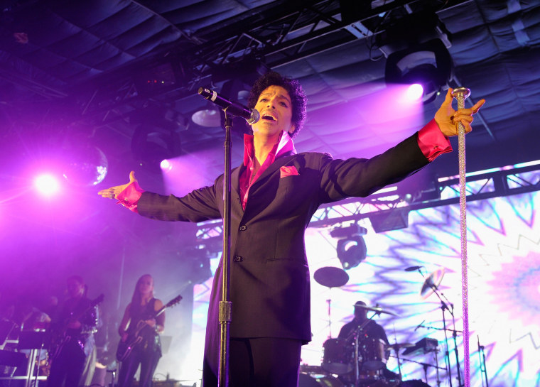 Image: Prince performs on March 16, 2013 in Austin, Tx