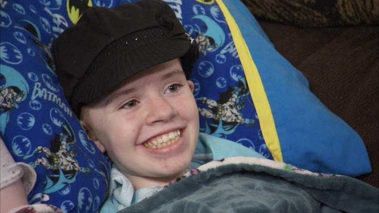 Image: Abigail Kopf, 14, returned home after after she was shot in the head during a rampage in Kalamazoo