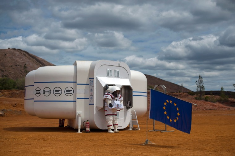 Image: The Moonwalk project's first Mars mission simulation