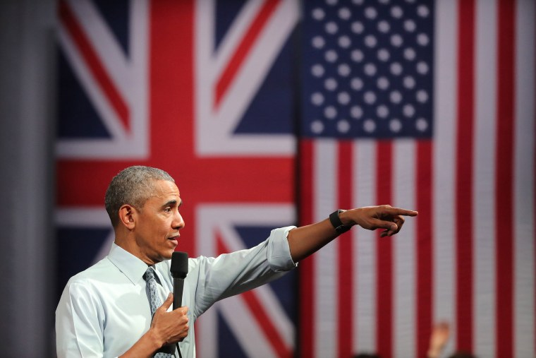 Image: President Obama Attend Town Hall Event In Central London