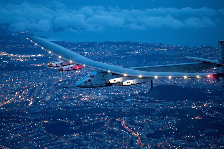Solar Impulse Plane Begins Trans-Atlantic Leg of Global Voyage